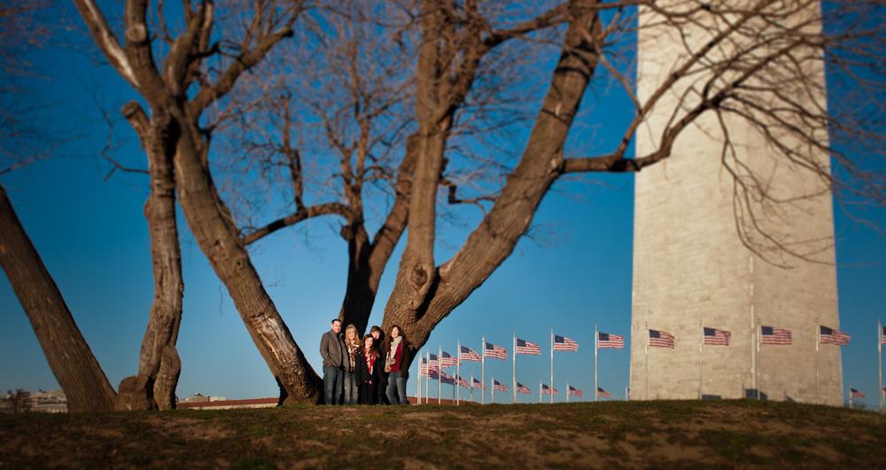 Family Portrait | Washington, DC | National Mall | Kami Swingle