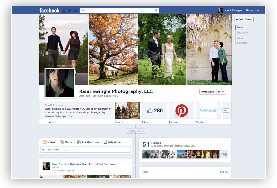 Facebook Timeline: Kami Swingle Photography