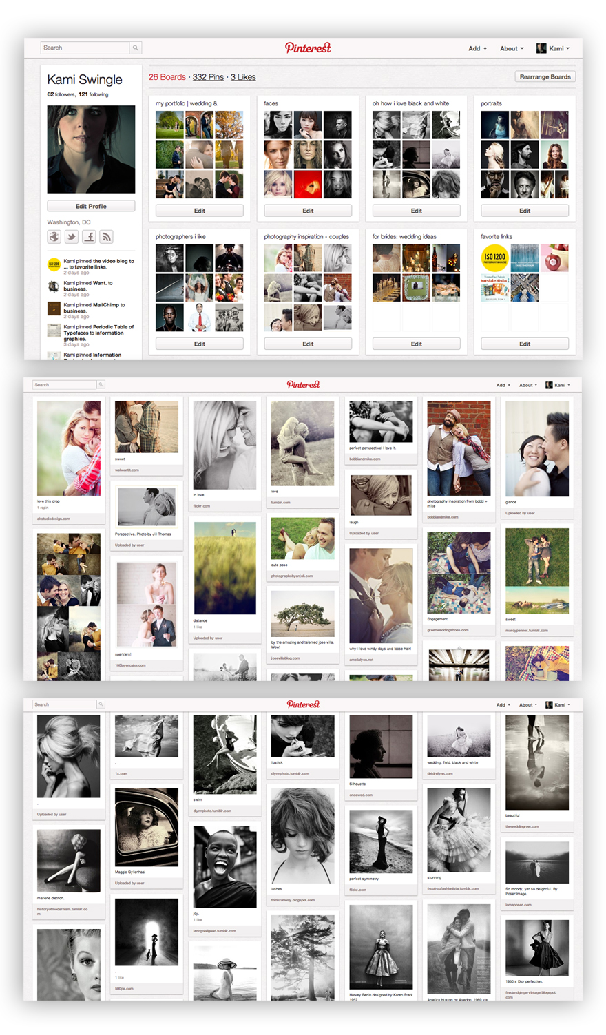 Pinterest: Kami Swingle Photography
