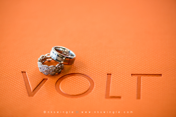 NK Swingle // Volt Restaurant Wedding