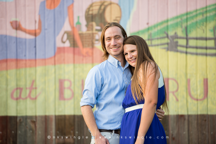 Josh & Allison's Bull Run Winery Engagement Session