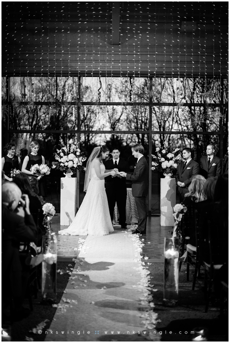 Wedding at The Atrium at Meadowlark. Vienna, Virginia